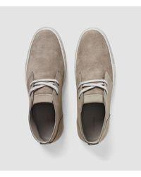 AllSaints - Gray Summit Short Boot for Men - Lyst