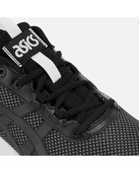 Asics Black Men's Gel-lyte Runner Trainers for men