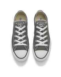 Converse | Gray Unisex Chuck Taylor All Star Ox Canvas Trainers | Lyst