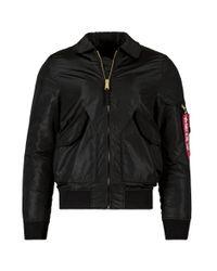 Alpha Industries - Black Cwu 36p Mod Flight Jacket for Men - Lyst