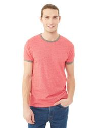 Alternative Apparel | Red Eco-mock Twist Ringer T-shirt for Men | Lyst