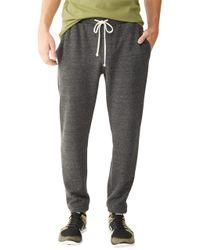 Alternative Apparel | Black Dodgeball Eco-fleece Pants for Men | Lyst
