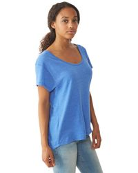 Alternative Apparel - Blue Overnight Dreamer Eco-Jersey T-Shirt - Lyst
