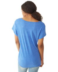 Alternative Apparel - Blue Overnight Dreamer Eco-Jersey T-Shirt - Lyst