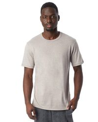 Alternative Apparel - Gray Keeper Vintage Jersey Crew T-shirt for Men - Lyst