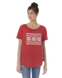 Alternative Apparel - Red Backstage Vintage Jersey Graphics T-shirt - Lyst