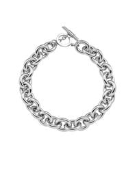 Amanda Wakeley | Metallic Chunky Silver Necklace | Lyst
