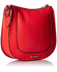 Rebecca Minkoff - Red Dog Clip Saddle Bag Cross-body - Lyst