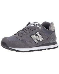 e138a6ecc7eab New Balance 574v1 Shattered Pearl Sneaker in Black - Lyst