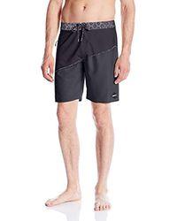 O'neill Sportswear - Black Hyperfreak Oblique 2.0 Boardshort for Men - Lyst