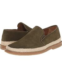 Aquatalia - Green Aquatalia Zayn Suede Loafer for Men - Lyst