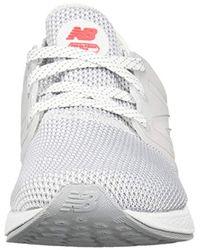 New Balance - White Fresh Foam Cruz V1 Retro Hoodie Running Shoe - Lyst