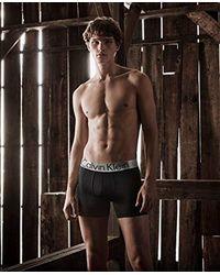 Calvin Klein - Black Steel Micro Boxer Briefs for Men - Lyst