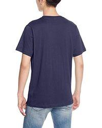 Alternative Apparel Blue S Basic S Crew T-shirt for men
