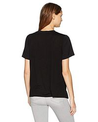 French Connection - Black Zodiac Crepe Light Top - Lyst
