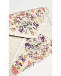 Rebecca Minkoff - Multicolor Leo Clutch Perforated - Lyst