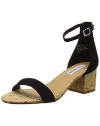 Steve Madden - Black Footwear 's Irenee-c Ankle Strap Sandals - Lyst