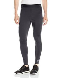 Champion - Black Cold Weather Tight for Men - Lyst