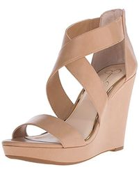 Jessica Simpson Multicolor Jinxxi Wedge Sandal