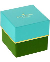 Kate Spade - Metallic Kate Spade Watches Park Row Watch - Lyst