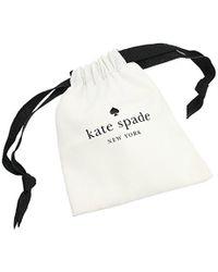 Kate Spade - Metallic Take A Shine Linear Silver Drop Earrings - Lyst