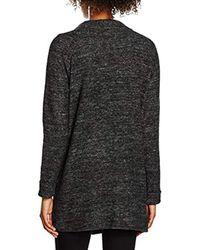 Vero Moda - Gray Vmfallon Ls Pocket Cardigan - Lyst
