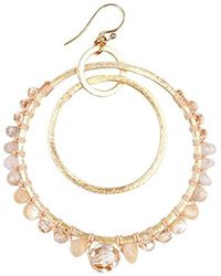 Chan Luu - Multicolor S Natural Mix Hoop Earrings, One Size - Lyst