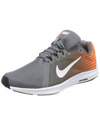 4cf7ff619461c Nike Downshifter 8 in Gray for Men - Lyst