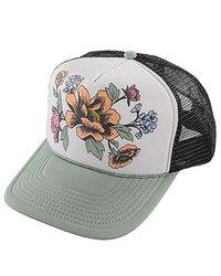 5a84d0fb385 Lyst - O Neill Sportswear Beach Garden Adjustable Hats in Gray