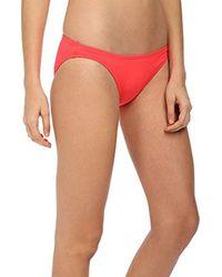 Kate Spade - Red Georgica Beach Bikini Bottoms - Lyst