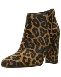 c7a09368d579c Lyst - Sam Edelman Cambell Ankle Bootie in Brown