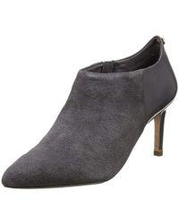 Ted Baker Gray Akashers Ankle Boot