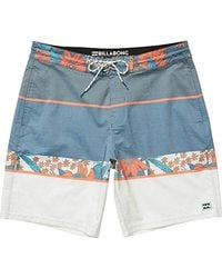 c9e8ed63e8 Lyst - Billabong Spinner Lo Tide Boardshort in Blue for Men