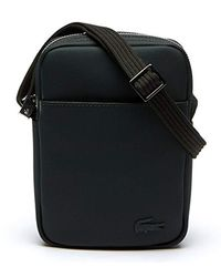 Lacoste Green Sac Homme Access Premium Shoulder Bag for men