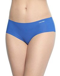 CALVIN KLEIN 205W39NYC - Blue Invisibles Hipster Panty - Lyst