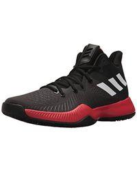 outlet store 34f6a c7450 adidas Originals. Mens Adidas Mad Bounce Basketball Shoe, Core Blackwhitesemi  Frozen Yellow ...
