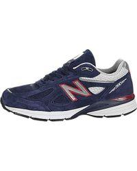 New Balance - Blue 990v4 Running Shoe for Men - Lyst