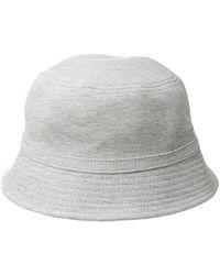 55b5000c Lacoste Cotton Pique Bucket Hat for Men - Lyst