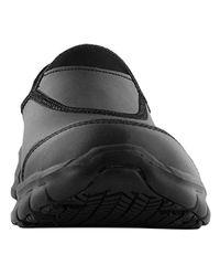 Skechers Black Sure Track-warfell Food Service Shoe