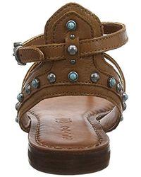 908fa4a0b096 ALDO  s Careen T-bar Sandals in Brown - Lyst