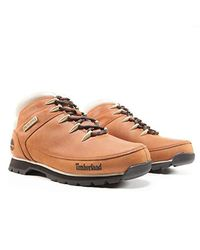 3ae92c98bcd Timberland Euro Sprint Hiker Chukka in Brown for Men - Lyst