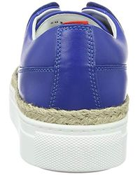 HUGO - Blue Connie-r 10195754 01 Low-top Sneakers - Lyst