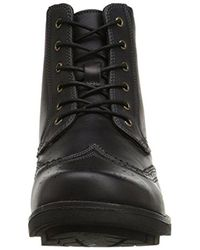Dr. Scholls - Black Scully Combat Boot for Men - Lyst
