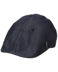Lyst - Ben Sherman Chambray Driver Hat in Blue for Men 3df9c5b7abb2