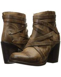 Freebird - Brown Gem Ankle Bootie - Lyst