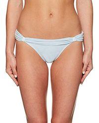 ViX - Blue Ice Bia Tube Full Coverage Bikini Bottom - Lyst