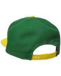 KTZ - Green Cap Splendor Brazil Snapback Hat for Men - Lyst