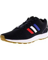 Adidas Originals - Black Zx Flux Fashion Sneaker for Men - Lyst