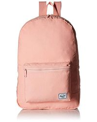 Herschel Supply Co. - Pink Packable Daypack Backpack - Lyst