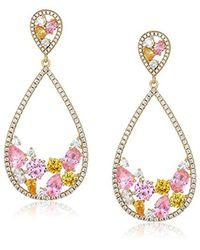 Nina - Metallic Jewelry Spring 2018 S E-arezzo (g) Earrings, Plated Gold - Lyst
